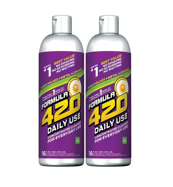 formula 420 daily use concentrated glass cleaner