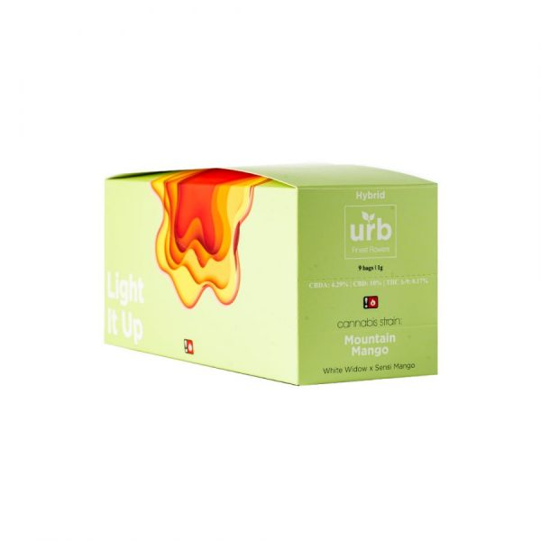 urb finest flowers 1g(9pack box)