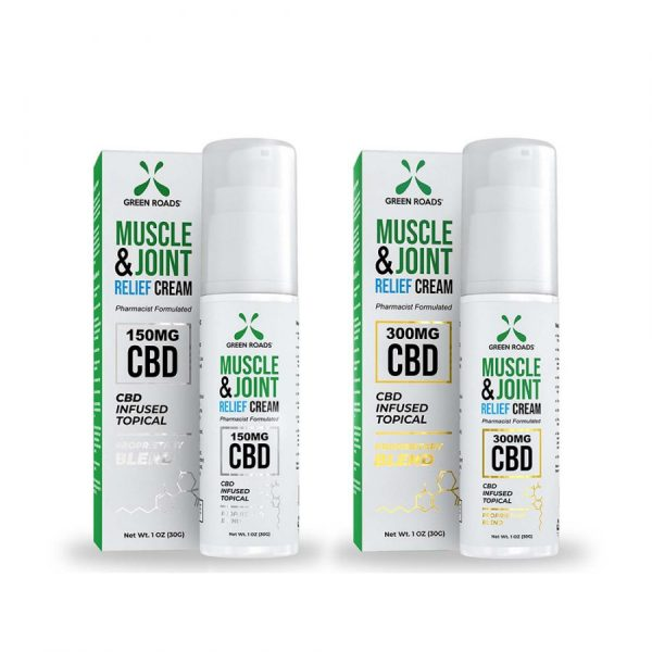 Green Roads Muscle & Joint Relief Cream