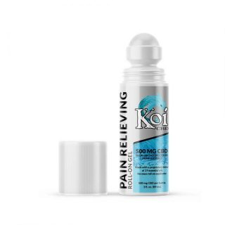 koi cbd pain relieving gel roll-on 6pack